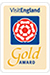 visit england gold logo