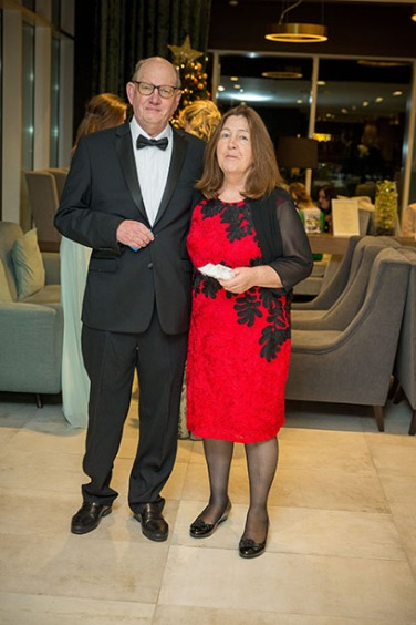 Bill and Penny at the Beautiful South Awards