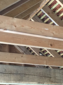swallow barn rafters